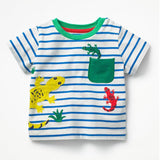 Kids T-Shirt Fille 100% Cotton Character Print Baby Boy