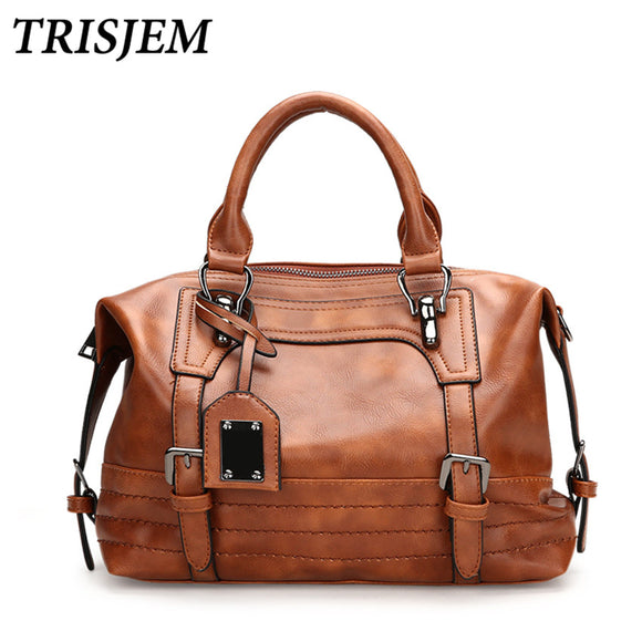 TRISJEM Women Vintage Bag Women's Leather Handbags