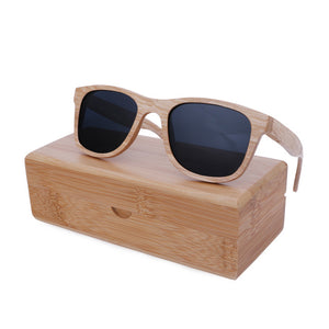 UNISEX BerWer New 2018 Bamboo Sunglasses
