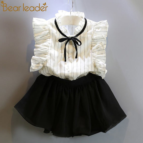 Bear Leader Girls Sets 2018 New Brand Summer Kids Clothes
