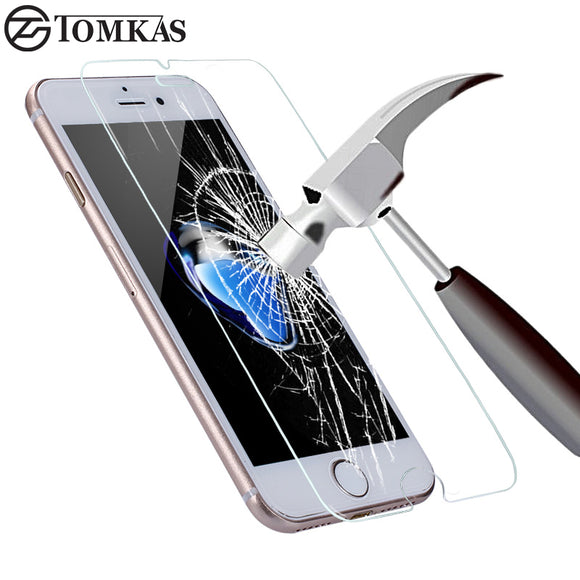 Tempered Glass for iPhone 7 6 6S Plus Explosion-Proof Screen Protector