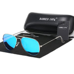 Fashion Sunglasses HD Polarized Metal Frame