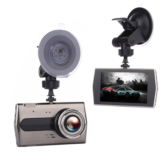 Car Dash Cam 4inch LCD FHD 1080p 170 Degree Wide Angle Dashboard Camera
