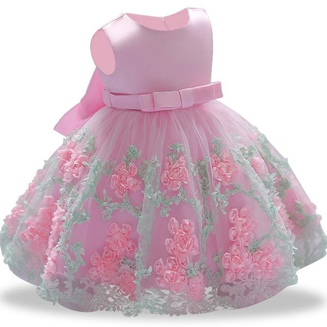 2208678195c ... 2018 New Lace Baby Girl Dress 9M-24M 1 Years Girls Birthday Dresses As  Picture ...