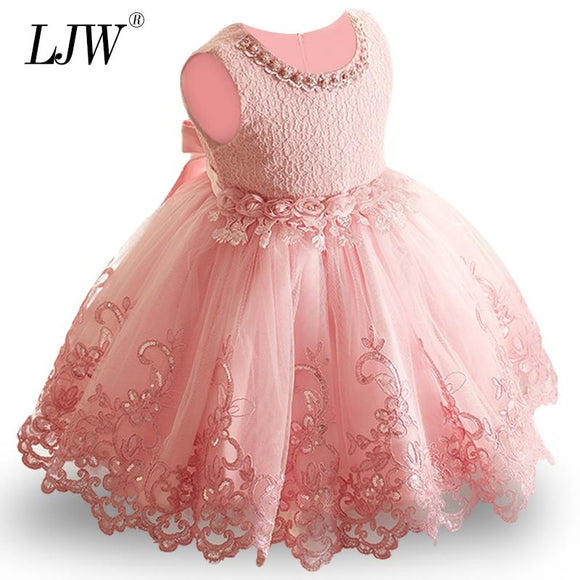 2018 New Lace Baby Girl Dress 9M-24M 1 Years Girls Birthday Dresses Mother & Kids