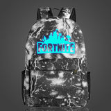 Fortnite Cool Night Luminous Backpack School Bags for Boys and Girls