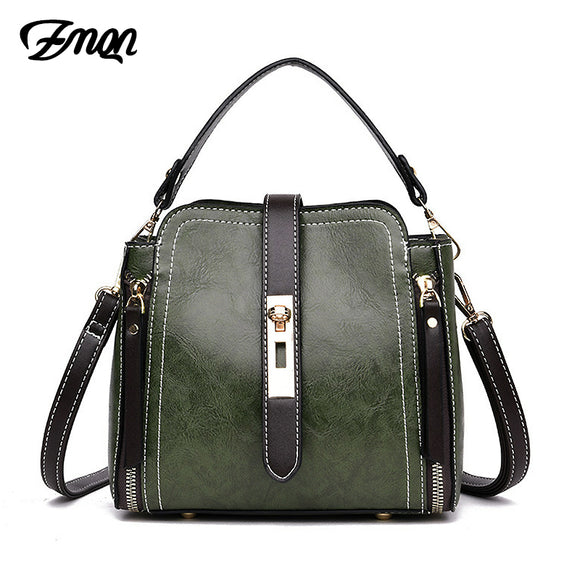 Women Small PU Leather Handbag