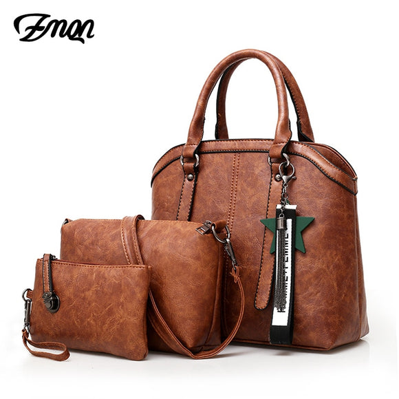 Women 3 Sets Combination Crossbody Bags