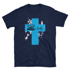 The Cross Short-Sleeve T-Shirt, Christian Inspirational Gift,