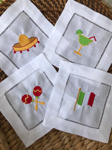 Cinco de Mayo Cocktail Napkins