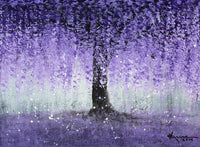 Free download of Wisteria Dream painting.