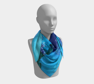Raised in Glory - Square Scarf