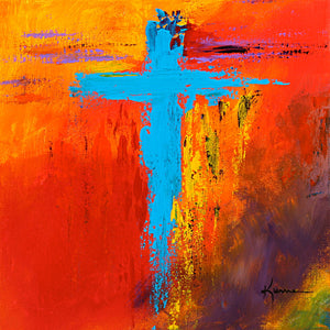 Cross No.3 - Fine Art Canvas Print