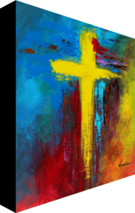 Cross No.2 - Fine Art Canvas Print