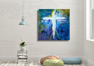 Cross No.4 - Fine Art Canvas Print