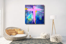 Cross No.5 - Fine Art Canvas Print