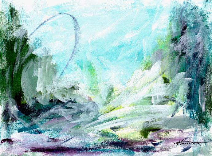 Day Nineteen - Abstract Landscape
