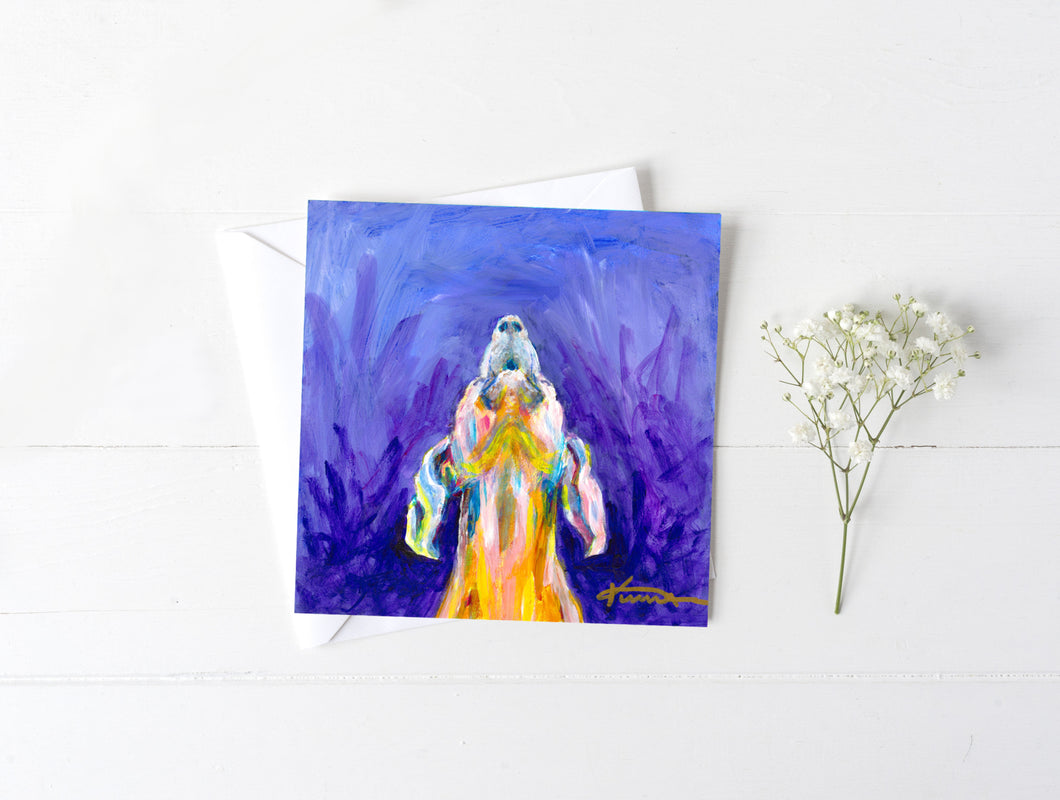 Howl - Greeting/Note Card