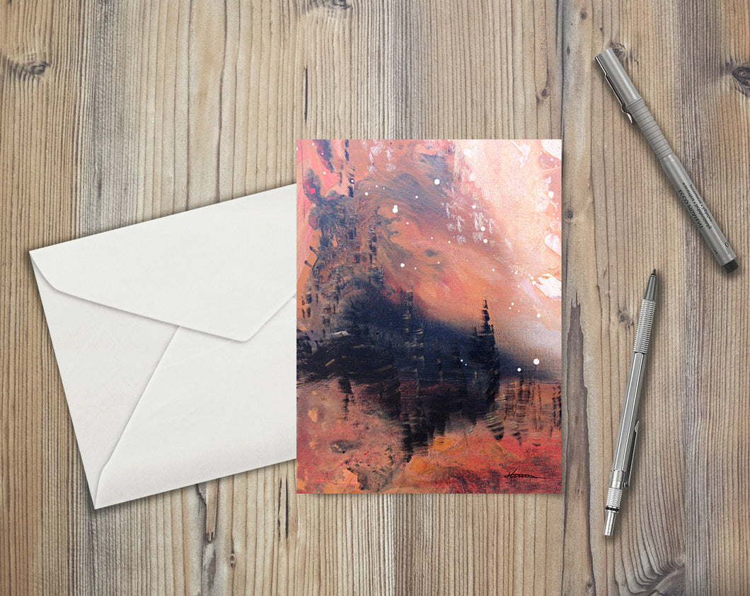 Kingdom Under the Mountain - Greeting/Note Card