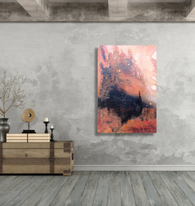 Kingdom Under the Mountain - Fine Art Canvas Print