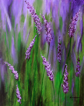 Lavender Garden - Greeting/Note Card