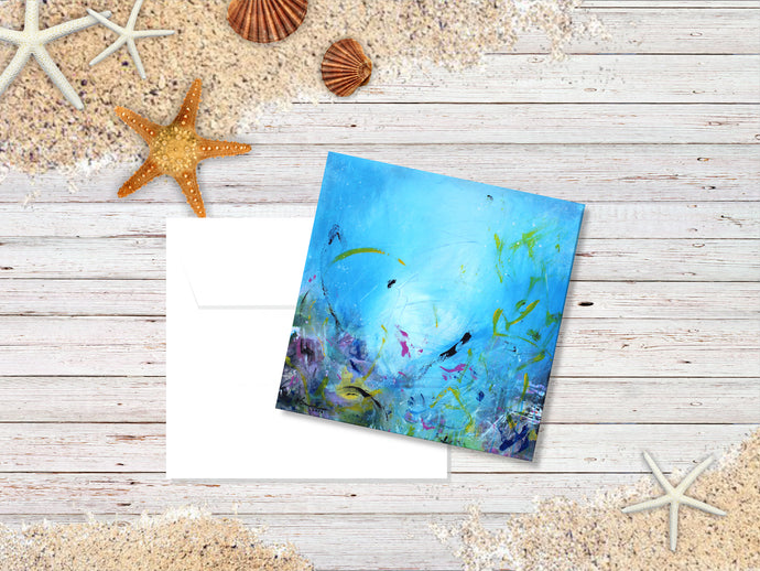 Ocean Life - Greeting/Note Card