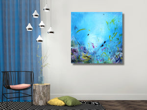 Ocean Life - Fine Art Canvas Print
