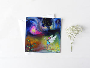 Star Fairy - Greeting/Note Card