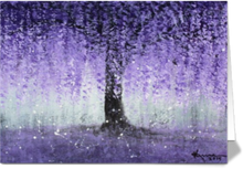 Wisteria Dream - Greeting/Note Card