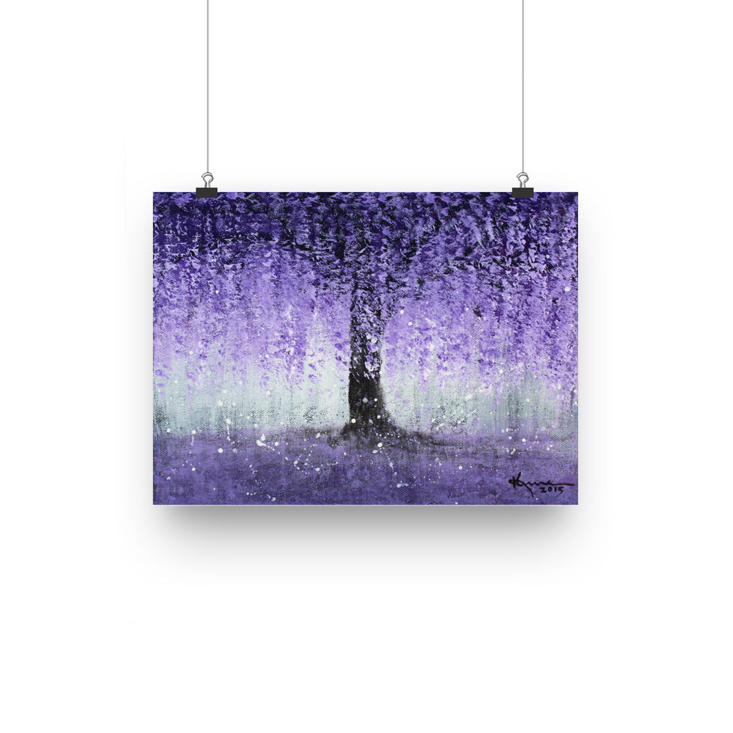 Wisteria Dream - Poster
