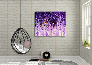 Wisteria - Fine Art Canvas Print