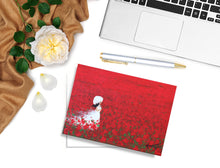 Being a Woman - (Poppy Love) - Greeting/Note Card