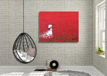 Being a Woman (Poppy Love) - Fine Art Canvas Print