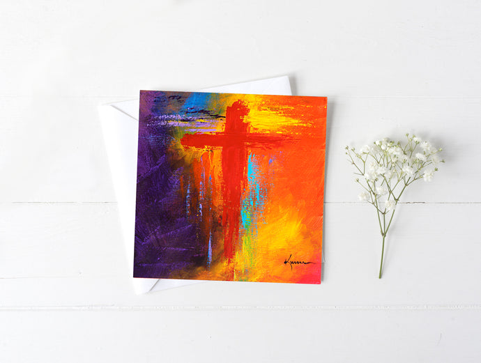 Cross No.1 - Greeting/Note Card