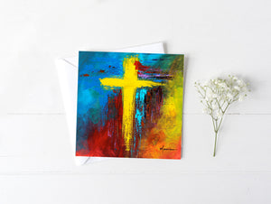 Cross No.2 - Greeting/Note Card