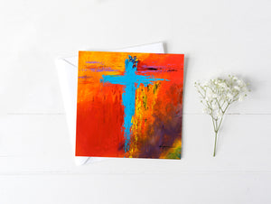 Cross No.3 - Greeting/Note Card