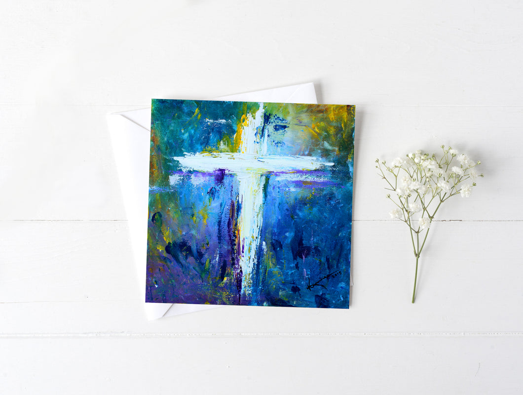 Cross No.4 - Greeting/Note Card