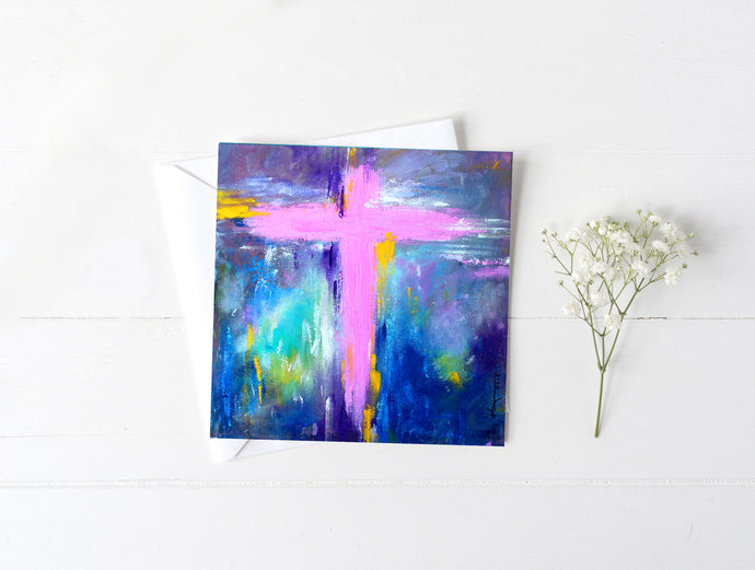 Cross No.5 - Greeting/Note Card