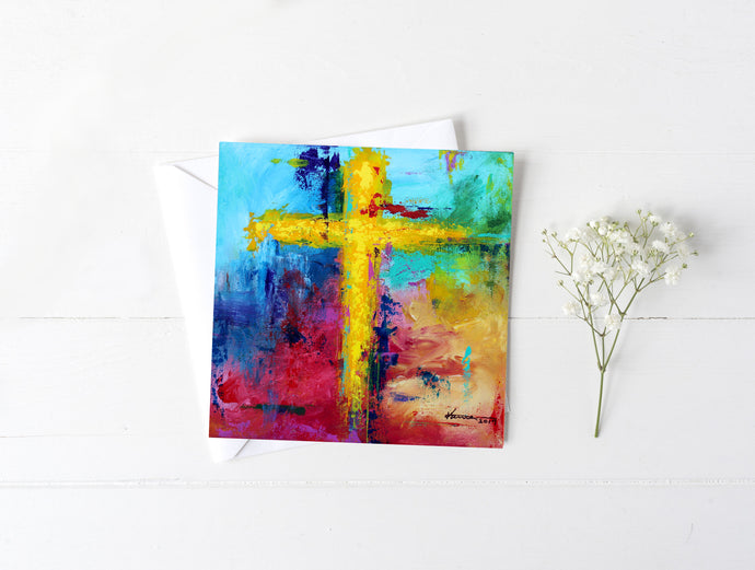 Cross No.7 - Greeting/Note Card