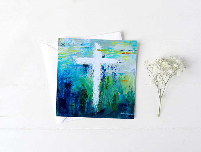Cross No.9 - Greeting/Note Card