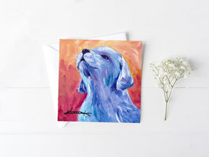 Puppy Howl - Greeting/Note Card
