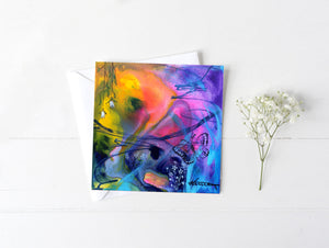 The Butterfly's Tale - Greeting/Note Card