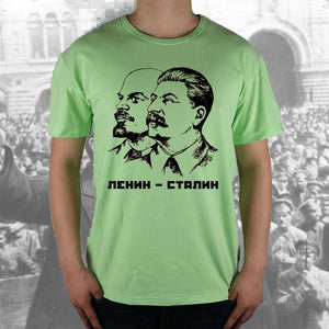 Lenin and Stalin Tee