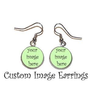 Custom Picture Earrings