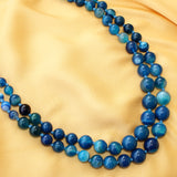Blue Agate Necklace