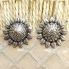 925 Silver Antique Look Tribal Studs