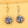 Imeora Sodalite 12mm Natural Stone Earrings