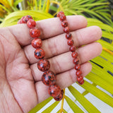 Imeora Natural Red Stone Necklace