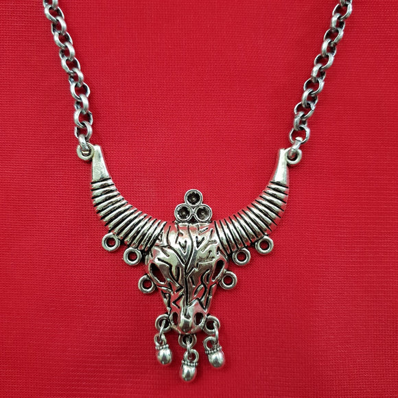 Imeora Bull Pendant With 23 inch Chain
