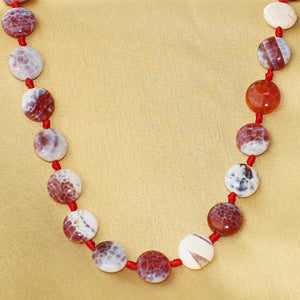Imeora Knotted MultiGem Stone Necklace